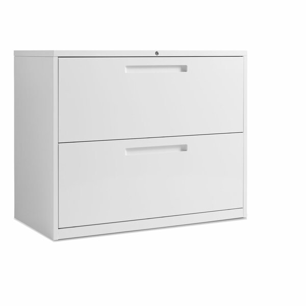 2 Drawer Filing Cabinet by Blu Dot