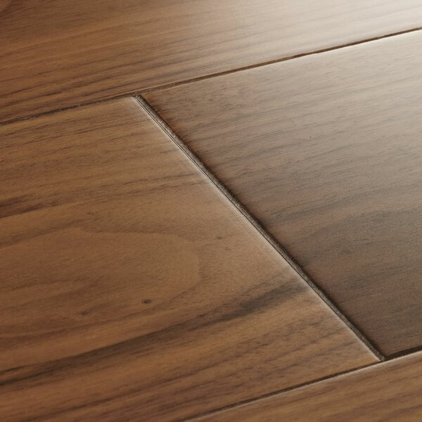 York 5 Solid Walnut Hardwood Flooring in Lacquered by Woodpecker