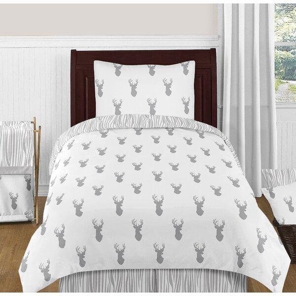 Stag 4 Piece Twin Reversible Comforter Set by Sweet Jojo Designs