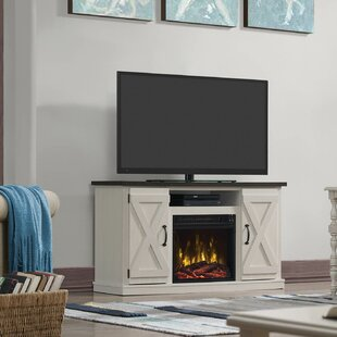 Serein Tv Stand For Tvs Up To 55 With Fireplace