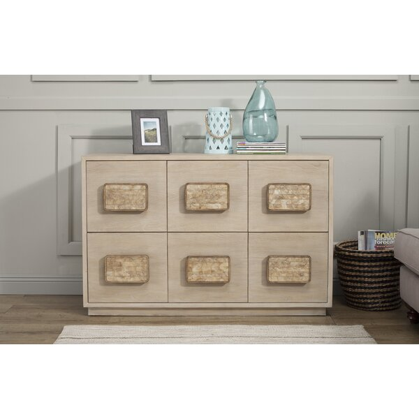 Pineland 6 Drawer Dresser by Rosecliff Heights