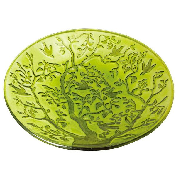 Tree of Life Tree of Life Birdbath by Evergreen Flag & Garden