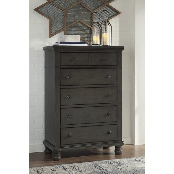 Gabilan 5 Drawer Chest by Alcott Hill