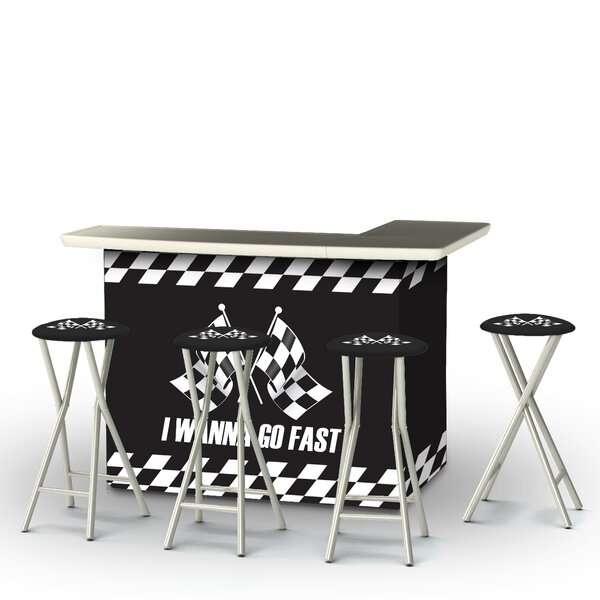 I Wanna Go Fast 5-Piece Bar Set by Best of Times Best of Times