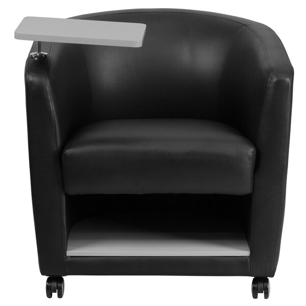 Laurens Leather Guest Chair by Latitude Run
