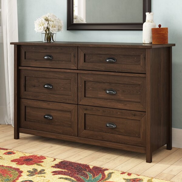 Amazing Rossford 6 Drawer Dresser By Three Posts No Copoun