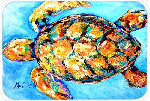 Sand Dance Turtle Rectangle Non-Slip Bath Rug