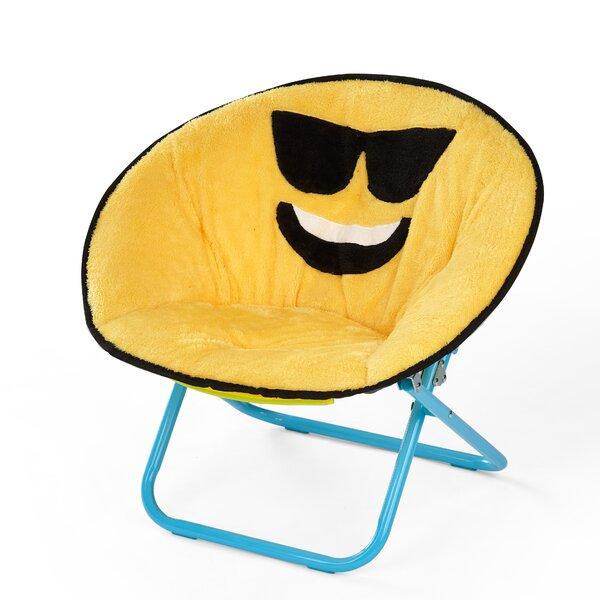 Liesl Emoji Kids Chair by Zoomie Kids