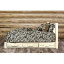Abella Storage Platform Bed by Loon Peak