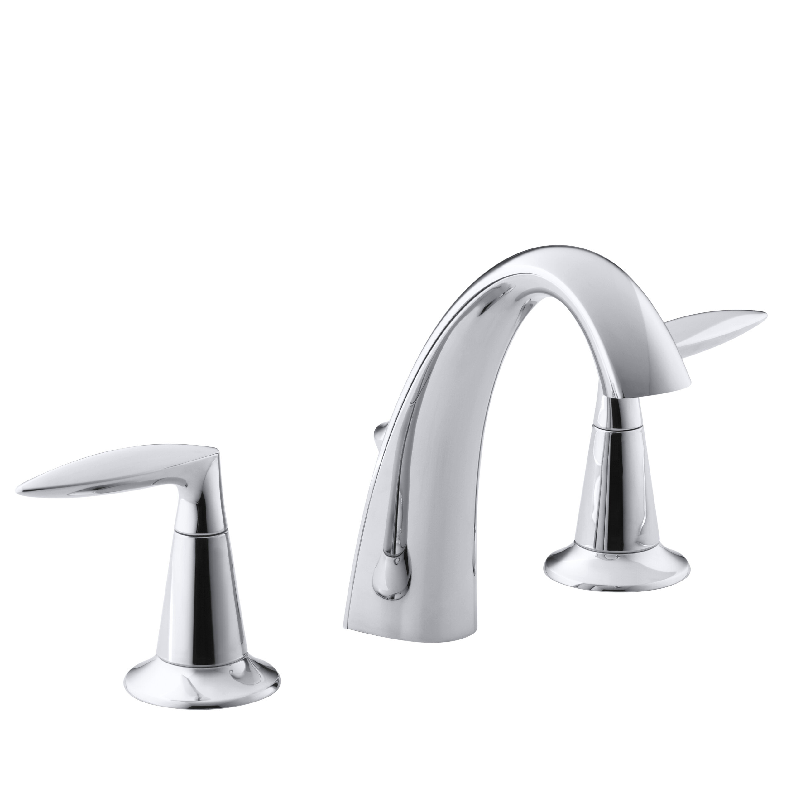 Alteo Widespread Bathroom Sink Faucet with Drain Assembly