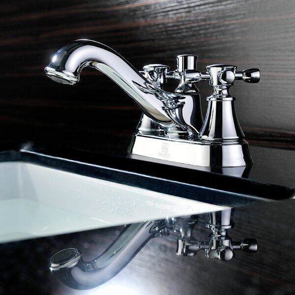 Major Centerset Bathroom Faucet with Drain Assembly by ANZZI