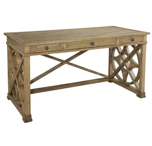 Shyanne Oak Writing Desk by One Allium Way