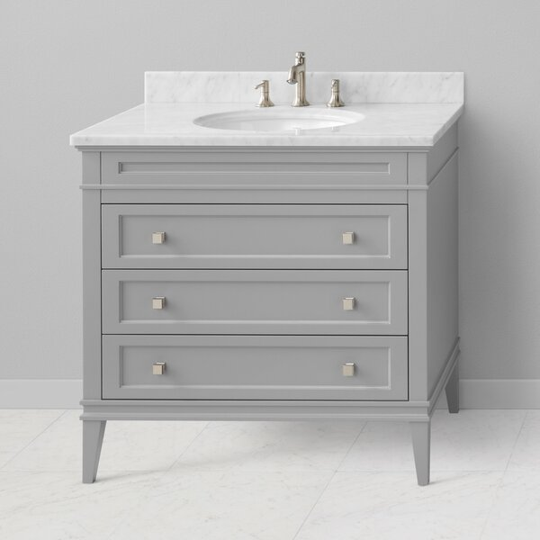 Laurel 37 Single Bathroom Vanity Set by Ronbow