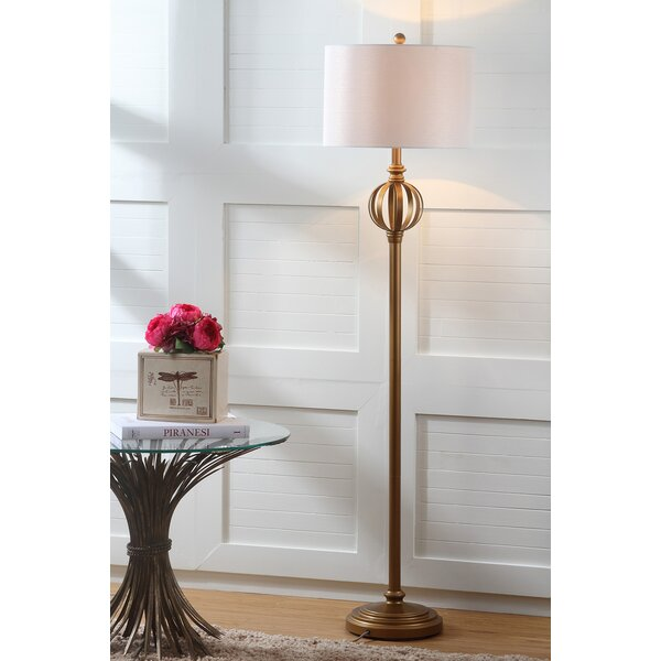 Babylon 61.5 LED Floor Lamp by Three Posts