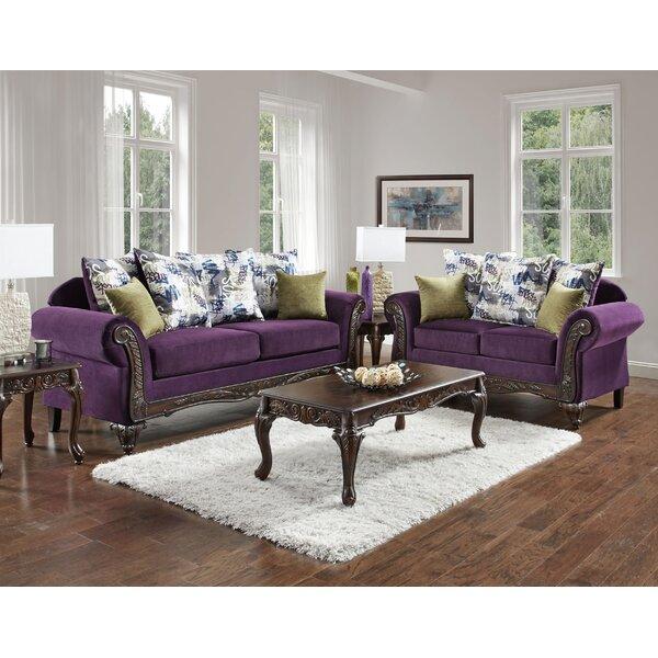 Chelsea Home Anna Configurable Living Room Set | Wayfair