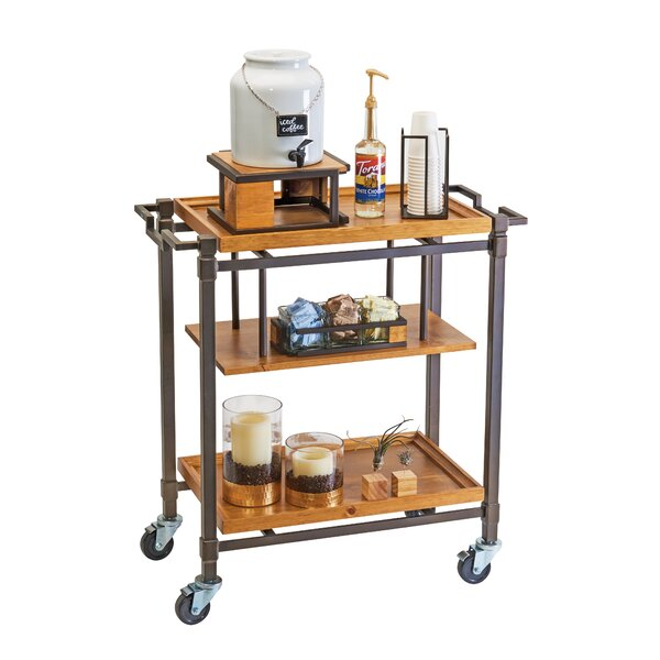 Sierra Beverage Bar Cart by Cal-Mil