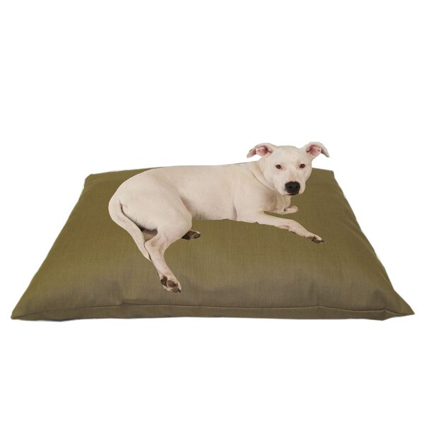 Cricket Indoor/Outdoor Shegang Dog Bed in Solid Tan by Tucker Murphy Pet