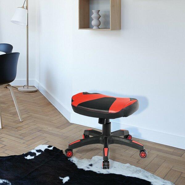 Multi-Use Footrest Height Adjustable Lad Stool