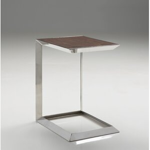 Chandika Tall End Table by Orren Ellis