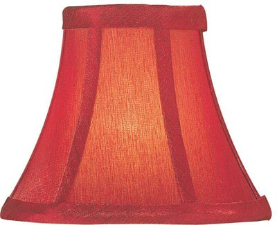 6 Silk Bell Lamp Shade by Charlton Home