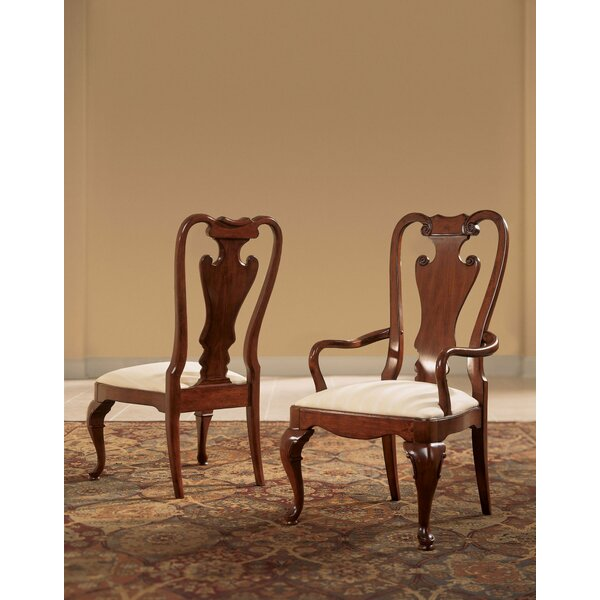Staas Upholstered Arm Dining Chair (Set of 2) by Astoria Grand Astoria Grand