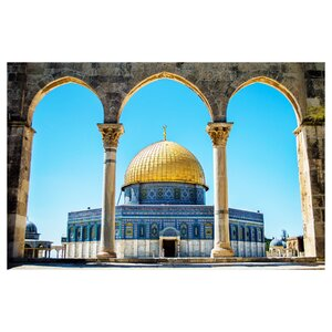 The Dome of the Rock on the Temple Mount - Jerusale Photographic Print by Prestige Art Studios