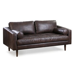 Kate Genuine Leather Sofa