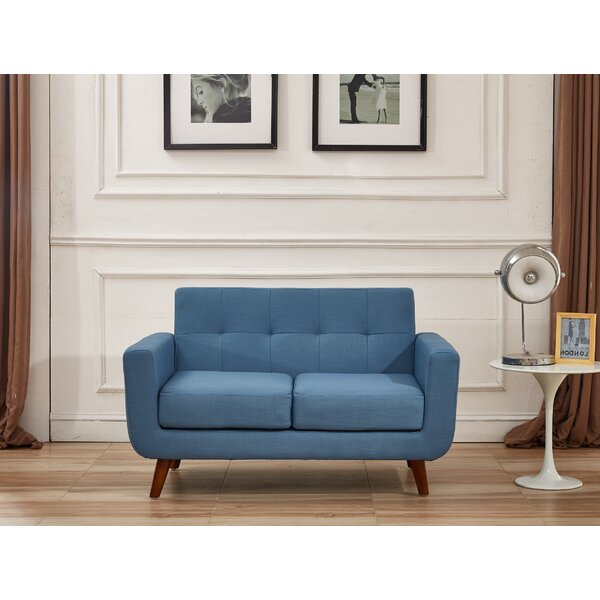 Dania 51-inch Square Arms Loveseat by Corrigan Studio Corrigan Studio
