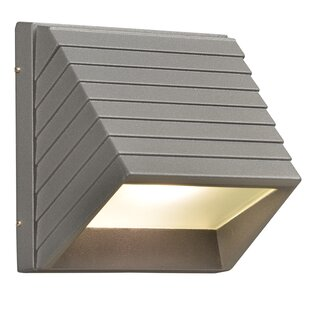 Price Check Letchworth 1-Light Outdoor Flush Mount By Ebern Designs