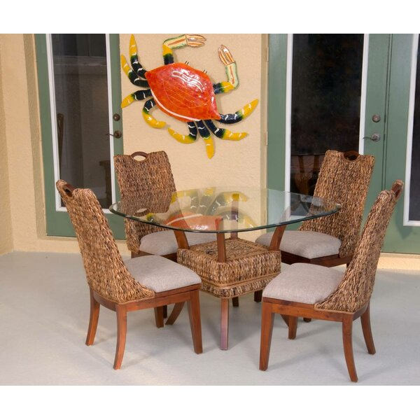 Treadwell Side Upholstered Dining Chair by Highland Dunes Highland Dunes