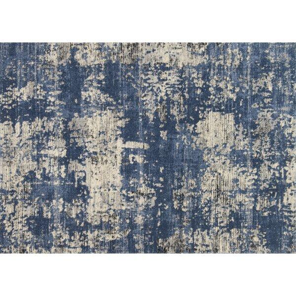 Aparicio Blue/Granite Area Rug by Latitude Run