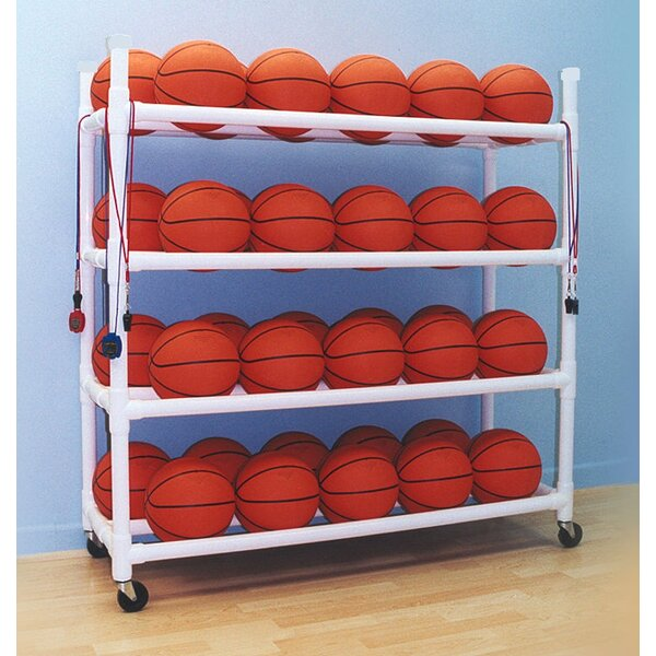 40 Basketball Utility Cart with Wheels by Duracart