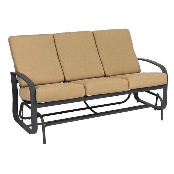 Cayman Isle Patio Sofa with Cushions by Woodard