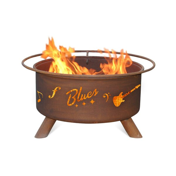 Music City Steel Wood Burning Fire Pit by Patina Products