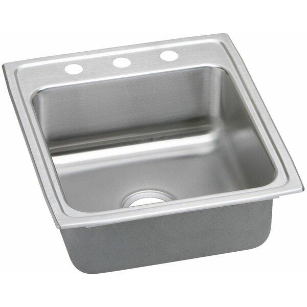 Lustertone 20 L x 22 W  Kitchen Sink by Elkay