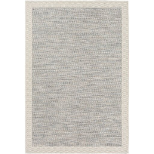Amelia Blue/Gray Indoor/Outdoor Area Rug by Laurel Foundry Modern Farmhouse