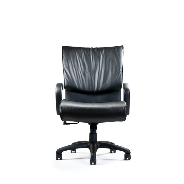 Embrace High-Back Leather Executive Chair by Neutral Posture