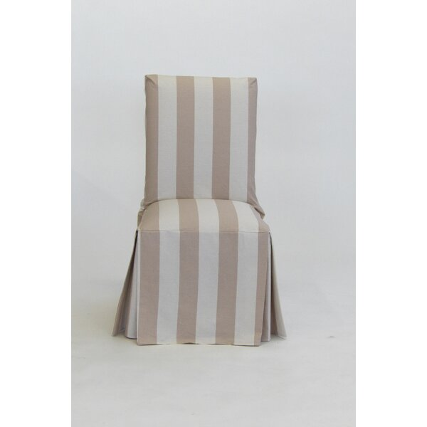 Stripe Dining Chair Slipcover By Breakwater Bay