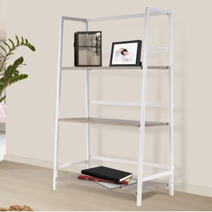 Albarado 3 Tier Folding Etagere Bookcase