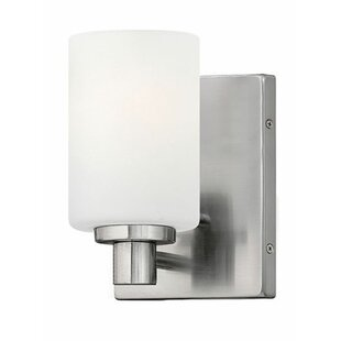 Trend Rumsey 1-Light Bath Sconce By Latitude Run