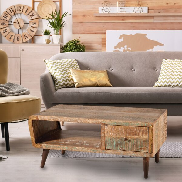 Bolindavale Coffee Table With Storage by Bungalow Rose Bungalow Rose