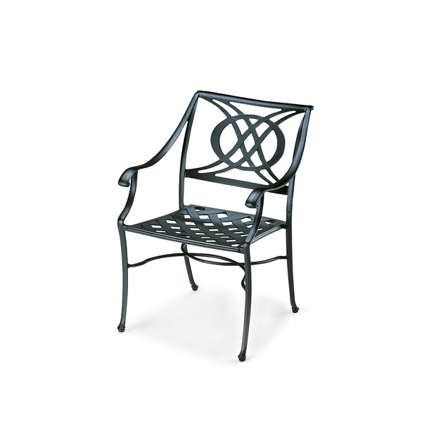 Cadiz Stacking Patio Dining Chair (Set of 2) by Telescope Casual