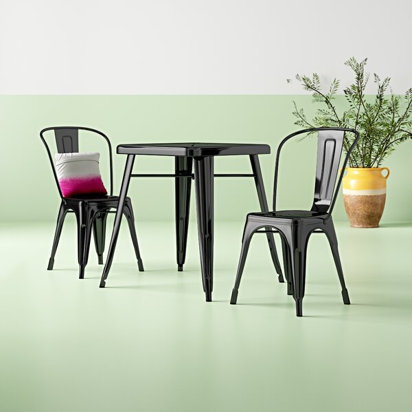 Karlson 3 Piece Dining Set by Hashtag Home