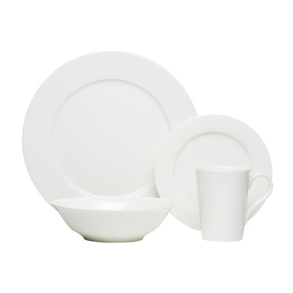Laleia Bone China 16 Piece Dinnerware Set, Service for 4 by Red Barrel Studio