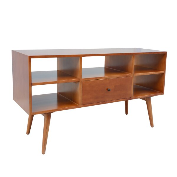 Shoreham Solid Wood TV Stand For TVs Up To 65