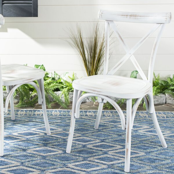 Ramon Stacking Patio Dining Chair (Set Of 2) By Ophelia & Co. by Ophelia & Co. New Design
