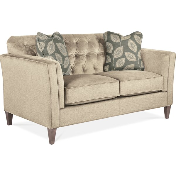 Alexandria Standard 62.5 Inches Flared Arms Loveseat By La-Z-Boy