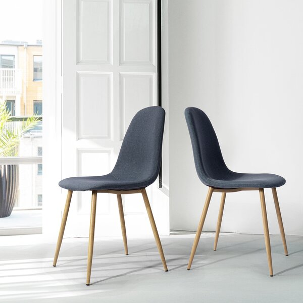 Eckard Upholstered Dining Chair (Set of 2) by George Oliver