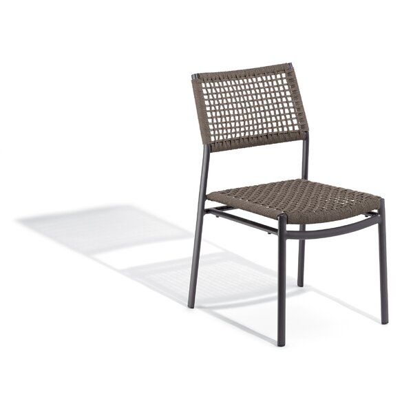 Campagna Stacking Patio Dining Chair by George Oliver