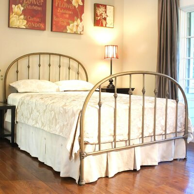 Benicia Foundry and Iron Works Ridgefield Standard Bed Size: Double